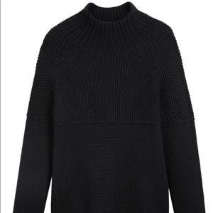 BURBERRY 100% Cashmere Fisherman Sweater Size L